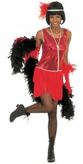 Charleston Damenkostüm 20er Jahre rot