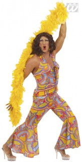 Drag Queen Hippie XL bunt