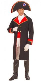 Napoleon Herrenkostüm Uniform blau-rot-weiss