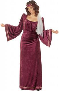 Prinzessin Kostüm XL-XXL rot
