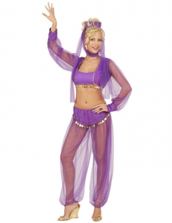 Bauchtänzerin Kostüm M lila