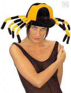 Spinnenhut schwarz-gelb