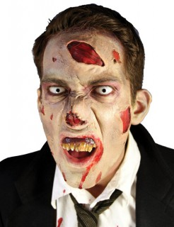 Zombie-Makeup-Set Halloween-Makeup Zombie beige-rot