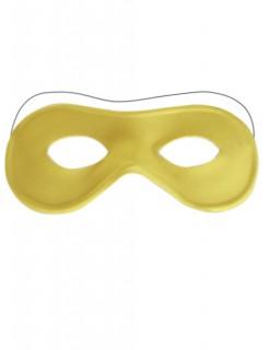 Venezianische Augenmaske gelb