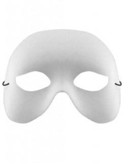 Venezianische Augenmaske weiss