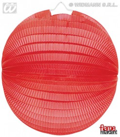 Lampion Party-Deko rot 33cm