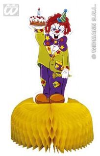 Tischschmuck Zirkus Kinderparty-Deko gelb-bunt