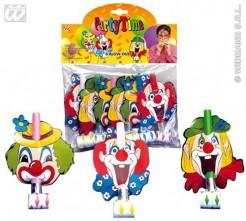 Clown Luftrüssel Set 6 Stück bunt