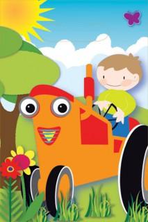 Bauernhof Kinderparty Taschen bunt