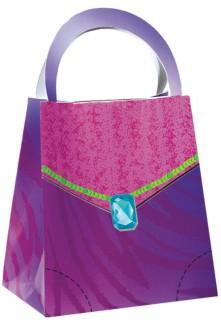Geschenkebox-Set Taschen Prinzessin Kindergeburtstag 8 Stück bunt