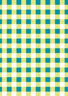 Tischdecke Party-Deko kariert grün-blau-weiss 120x180cm