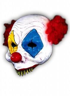 Fleischfresser Clown Maske bunt