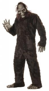 Big Foot Plüsch Tier-Kostüm braun