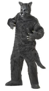 Böser Wolf Tierkostüm Märchenkostüm grau