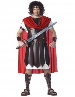 Herkules Römer Kostüm XXL braun-weiss-rot
