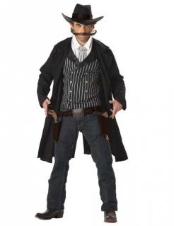 Santa Maria Cowboy Kostüm schwarz