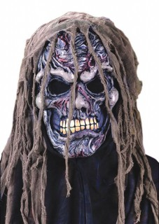 Monster Maske Pestleiche Halloweenmaske bunt