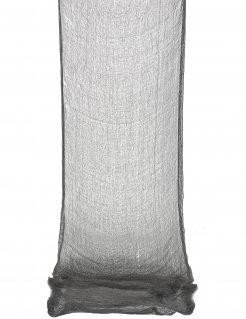 Leichentuch Drapiertuch Halloween-Deko schwarz 300x75cm