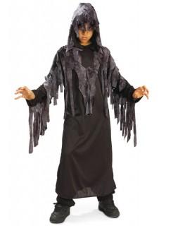Zombie Ghoul Kinderkostüm Halloween schwarz-grau