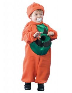 Baby Kürbis Kostüm orange-grün