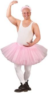 Tutu für ein Männerballett-Kostüm JGA-Accessoire rosa