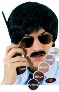Detektiv Bart Kostüm-Zubehör braun