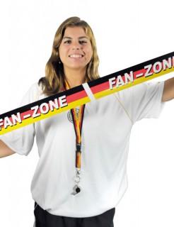 Deutschland Fanzone Absperrband Fanartikel schwarz-rot-gelb 6m
