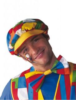 Clown Schirmmütze bunt