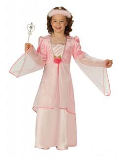Rosenprinzessin Kinder-Kostüm rosa