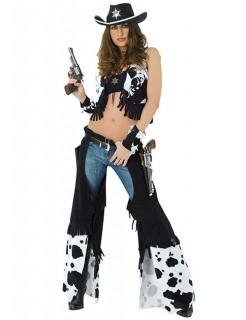 Cowgirl Damen-Kostüm