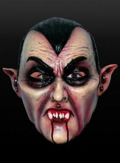 Dracula Vampirmaske Halloween bunt