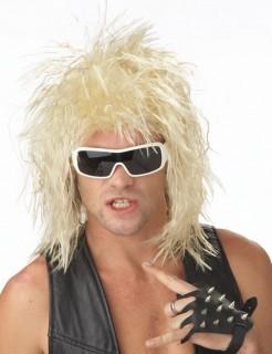 Glam-Rock Perücke blond
