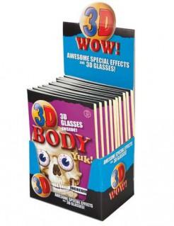 Körper-Kinderbuch mit 3D-Brille bunt