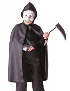 Gevatter Tod Kinder-Kostüm-Set schwarz-weiss