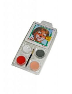 Make-up-Set Katze Schminkset 5-teilig Faschingsschminke bunt