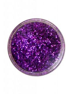 Polyester-Streuglitzer violett