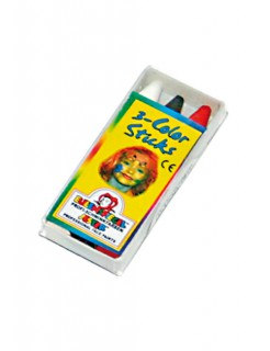 3-Farben Color-Sticks weiss-schwarz-rot 8g