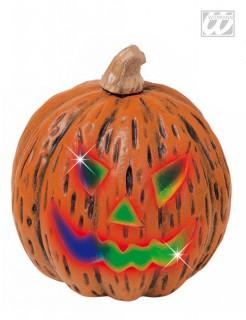 Kürbis mit Farbwechsel Halloween Party-Deko orange 23cm