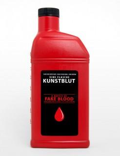 Kunstblut in der Flasche 0,45l