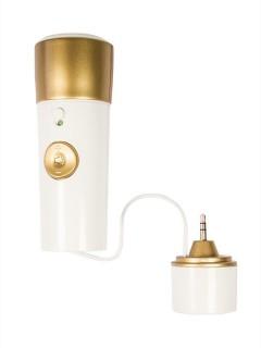 Karaoke iPod Mikrofon beige-gold