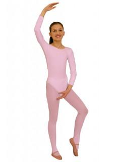 Kinder-Body langarm rosa