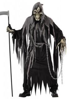 Zombiemeister Halloween-Kostüm schwarz-grau