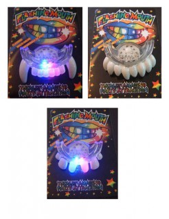 LED Blinkzähne Party-Gadget bunt