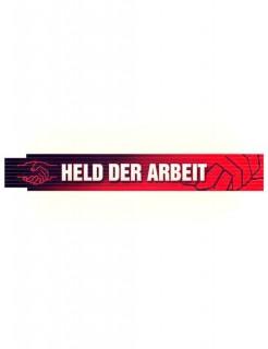 Zollstock Held der Arbeit DDR-Geschenk Ostalgie schwarz-rot-weiss 2m