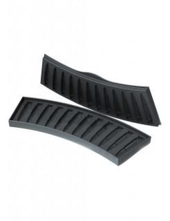 Eiswürfelform AK-47 Party-Gadget schwarz 8x18cm