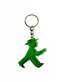 Ampelmännchen Schlüsselanhänger Ostalgie grün 5x5cm
