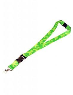 Ampelmännchen Schlüsselband grün 50x2,5cm