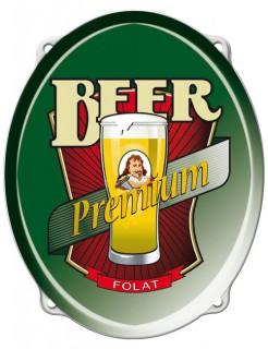 Bier Türschild Bierfest Party-Deko bunt 43x35cm