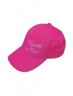 Tussi on Tour Baseball Cap Schirmmütze pink