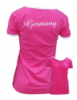 Tussi on Tour WM Girlie T-Shirt pink